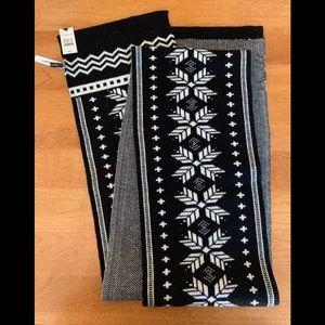 Talbots reversible scarf